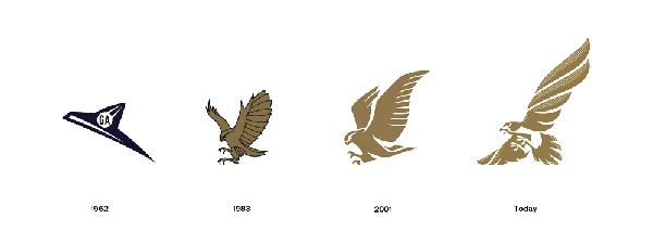 海湾航空公司Logo升级--千年猎鹰
