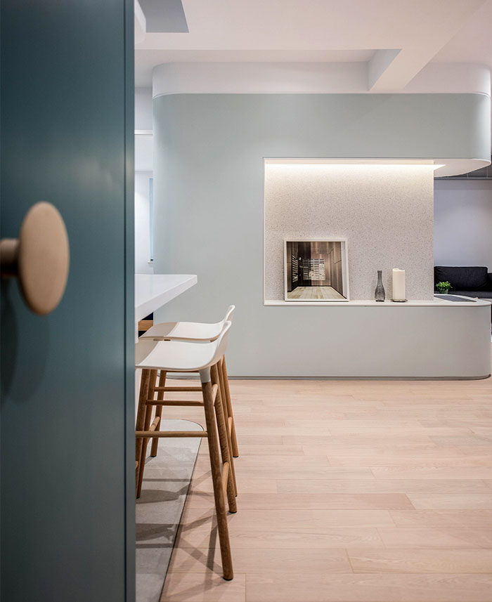 香港简约时尚小公寓装修设计