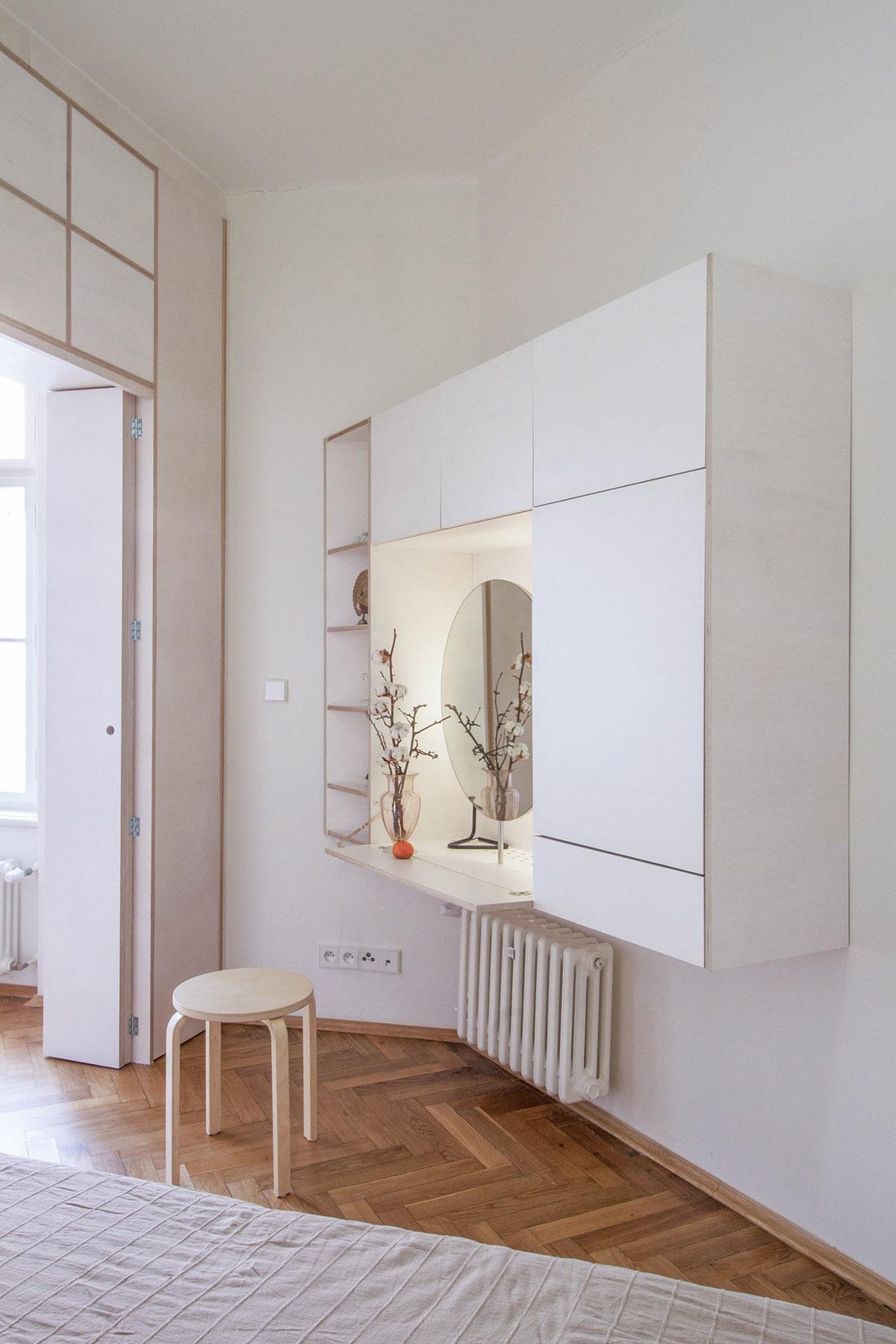 卧室飘窗设计_33款漂亮的卧室梳妆台设计(4) - 设计之家