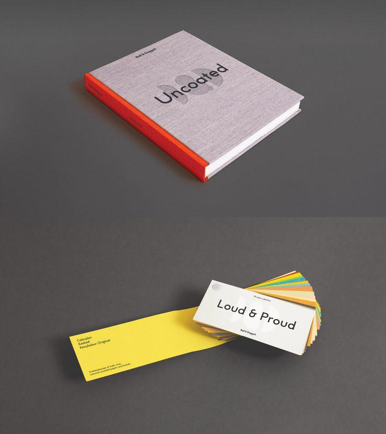 澳洲纸张分销商Ball & Doggett品牌视觉设计