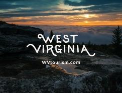 美国西弗吉尼亚州发布全新的旅游品牌LOGO