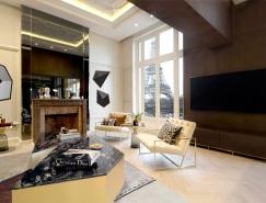 现代与法式风格结合的艾菲尔铁塔旁豪宅设计