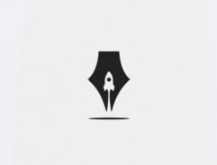 35款巧妙的负空间logo设计欣赏