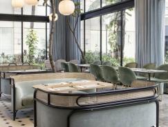 优雅的Harlan + Holden Glasshouse咖啡厅设计