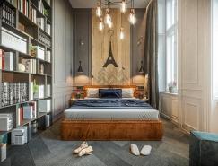 3个城市主题卧室:酒店式套房设计