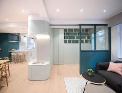 香港简约时尚小公寓装修,体育投注