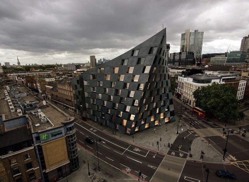 伦敦造型扭转的Shoreditch酒店