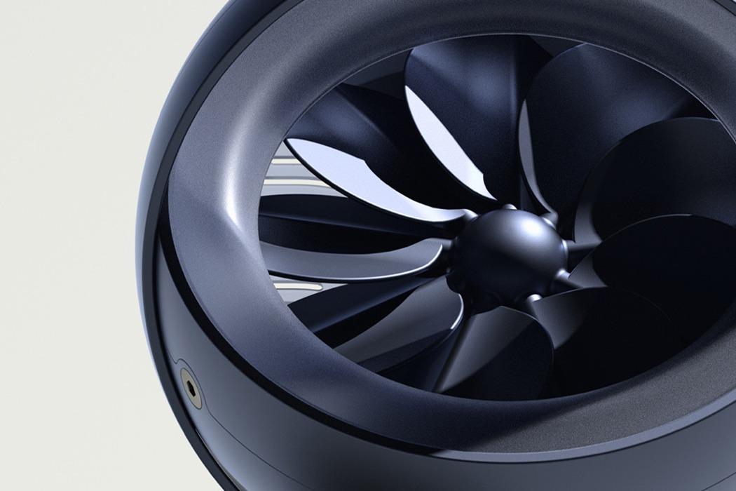 超酷造型的A Fan台式风扇