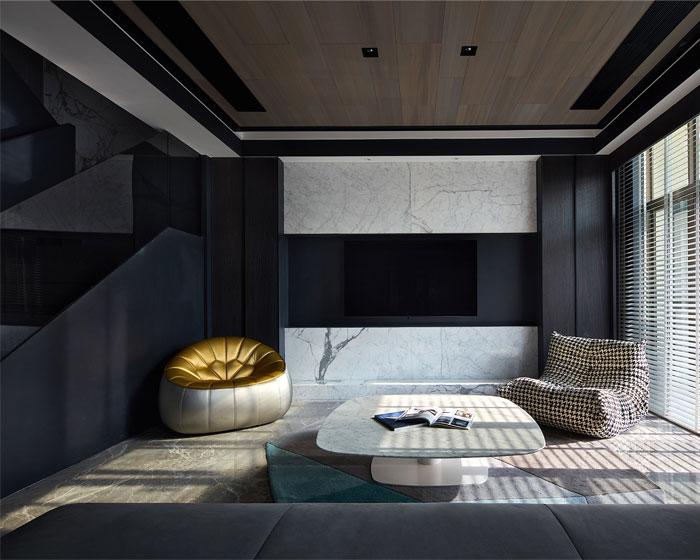 经典和现代的平衡:设计感强的现代豪宅设计