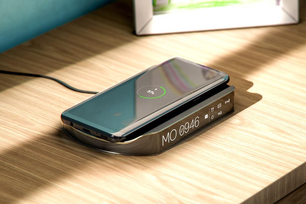 设计简洁的多功能无线充电器