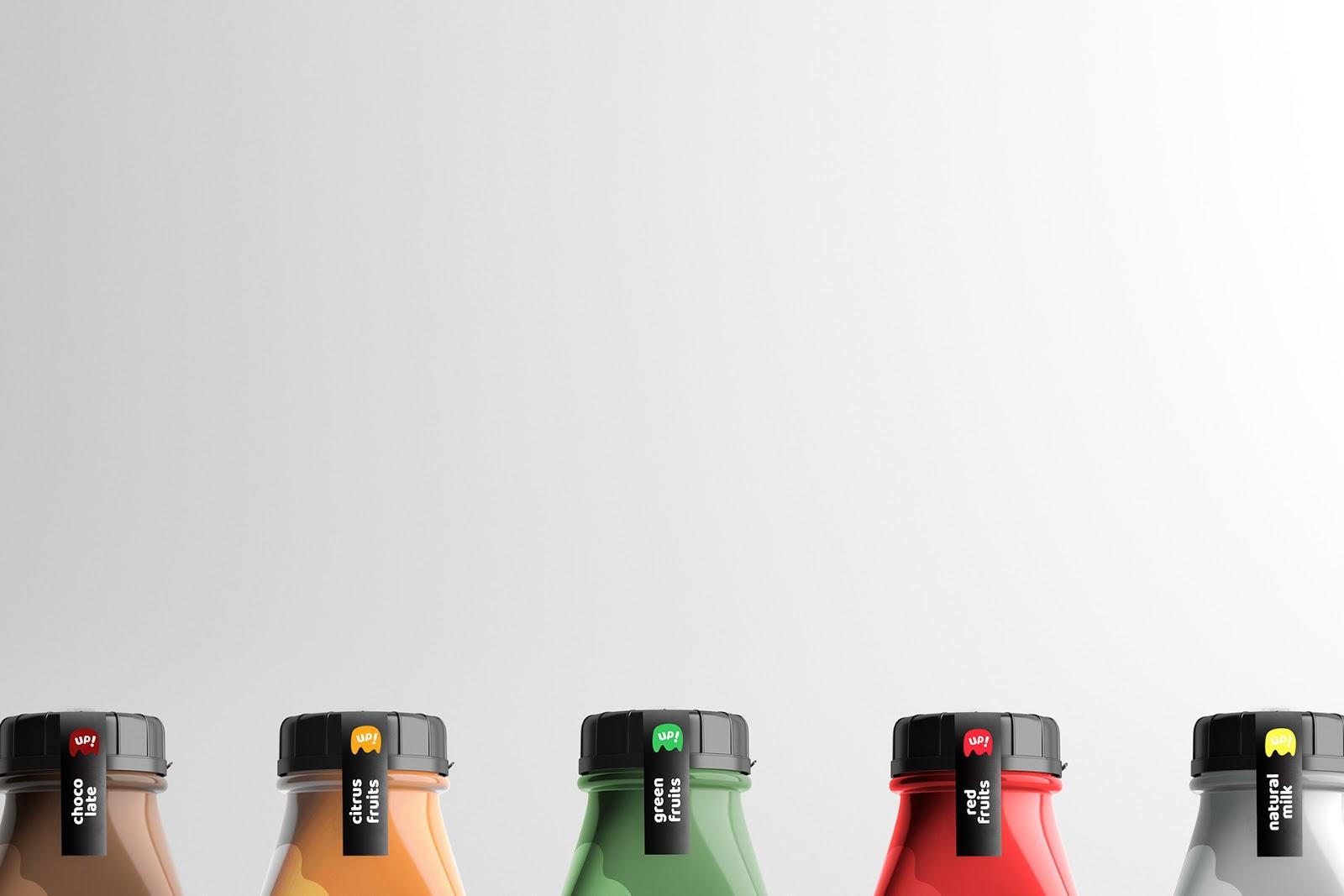 MilkUp!牛奶包装设计