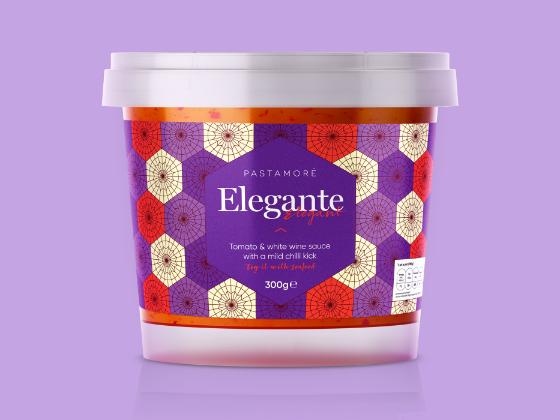 Pastamoré美味酱料包装设计