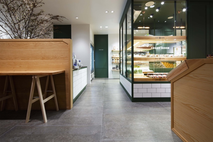 日本yaoyasuika蔬果零售店铺设计