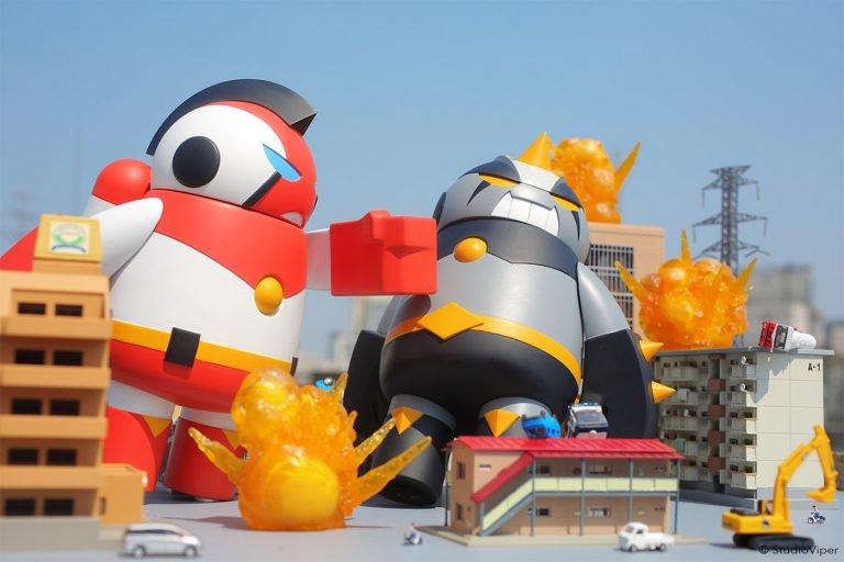 韩国艺术家Liam Sopp创作的机器人模型玩具