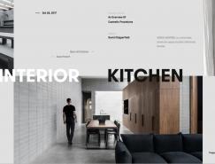 SOLID精美視覺設計的網頁欣