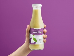 Bendito果汁包裝設計
