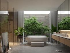 50个奢华豪宅浴室装修设计