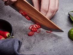 Sven Regener设计的独特的木质刀具