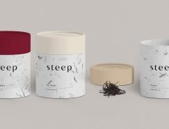 Steep茶包裝設計