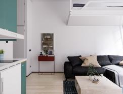 巧妙的空间利用:4个小户型公寓设计