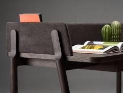 Ash簡約優雅的書桌設計
