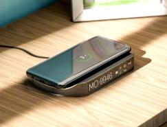 皇冠新2网简洁的多功能无线充电器