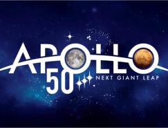 阿波羅計劃50周年紀念LOGO發布