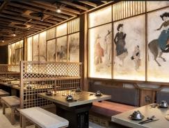 韩国传统元素融入餐厅:胡志明市K-Duck餐厅设计