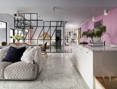 通透开放式空间的台北公寓设计
