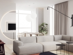 3个简约宁静的北欧风格公寓装修,体育投注