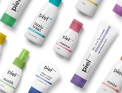 乌克兰Piel化妆品包装设计