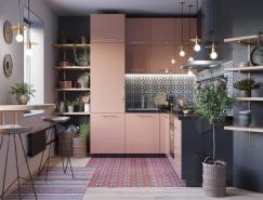 50個漂亮的L型廚房設計