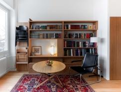 巧妙的储物空间:33平米紧凑二层小公寓设计