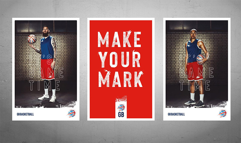 英國國家男子籃球隊啟用新LOGO