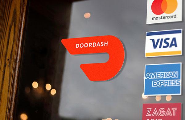 美国外卖送餐公司DoorDash品牌形象设计