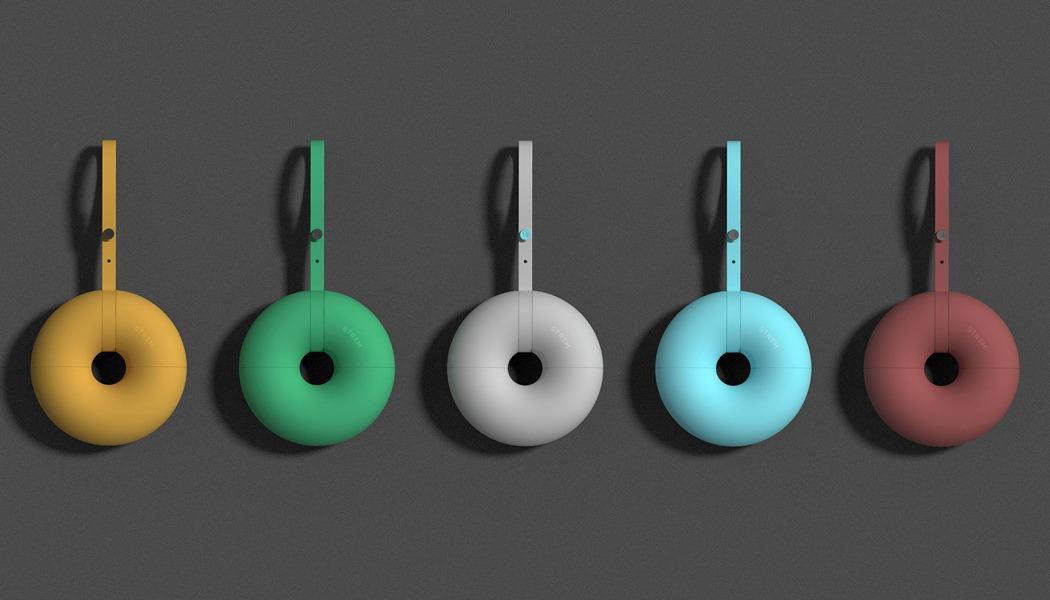 可以旋转的可爱甜甜圈充电宝