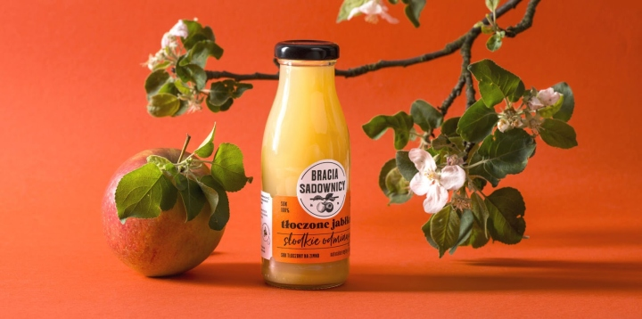 Bracia Sadownicy苹果汁包装设计