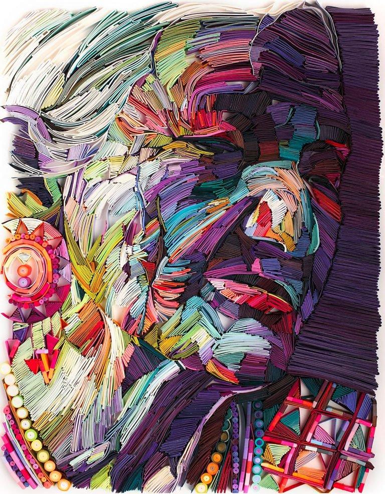 Yulia Brodskaya创意纸雕艺术作品