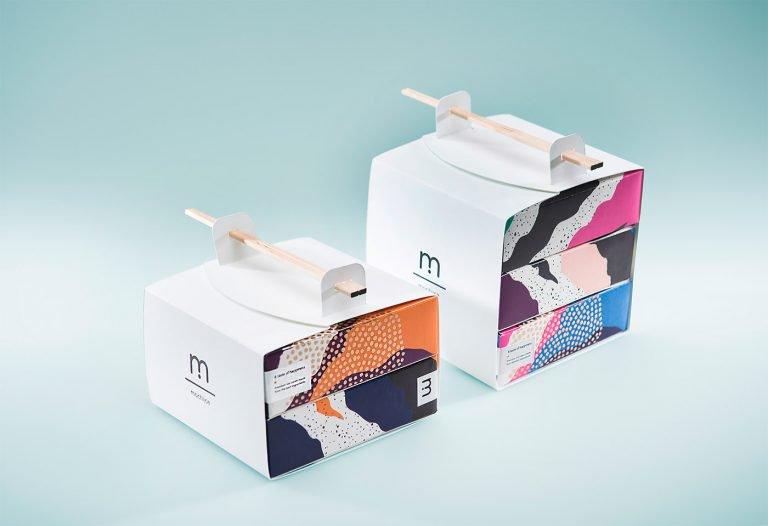 Mochiice冰淇淋品牌视觉设计