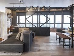 4個工業風格家居裝修設計