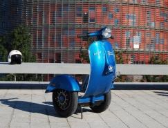 踏板摩托車與電動平衡車的混合產品Z-scooter