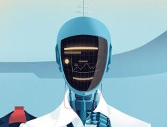 展望未来科技:Björn Öberg插画欣赏