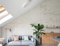 拥有三角形屋顶的小房子 北京LOFT阁楼亲子宅设计