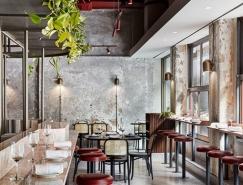 墨尔本PENTOLINA优雅工业风意大利休闲餐厅设计