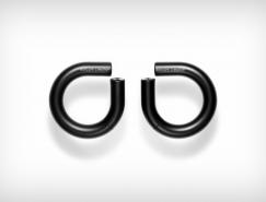 形似耳环的酷炫概念耳机设计