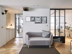 简洁富有活力的新北138平米住宅装修设计