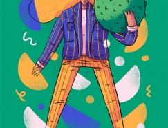 Lucas Wakamatsu人物插畫作品