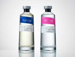 充满生命的纯净瓶子:墨西哥El Pintor酒包装设计