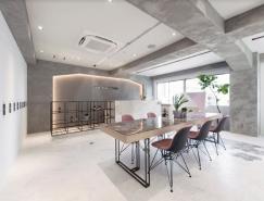 横滨ONE005优雅简约的美容沙龙室内设计