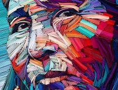 Yulia Brodskaya創意紙雕藝術作品